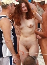 New Exclusive photos from nude beach